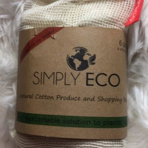 6 Wco Produce Cotton Bags